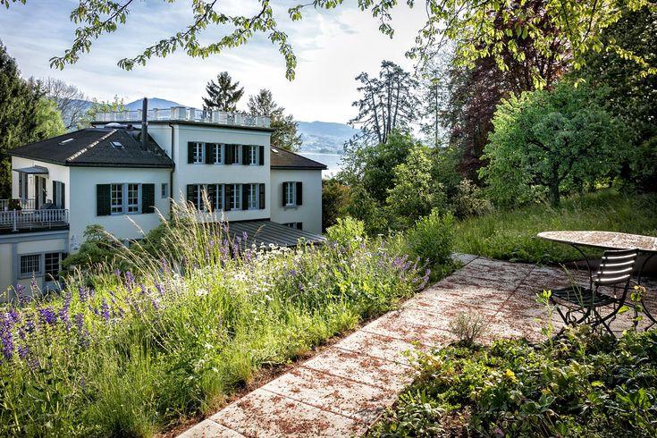 Villa am Zürichsee - Parkanlage - PARC'S Landschaftsarchitektur