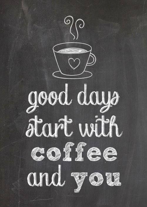 Un buon Giorno inizia con un caffè e con te https://www.facebook.com/NozzeMeravigliose