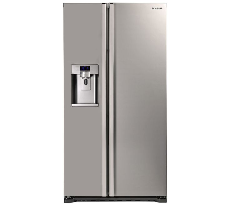 SAMSUNG RSG5UUMH American-Style Fridge Freezer - Manhattan Silver