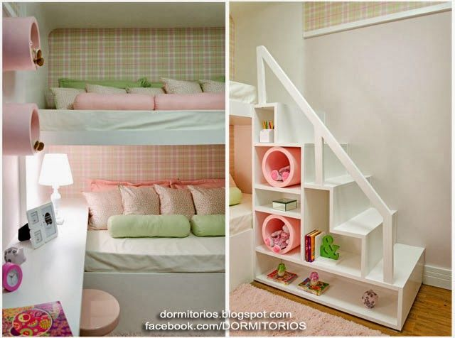 665 best images about dormitorio ni os bedroom kids on for Diseno de dormitorios
