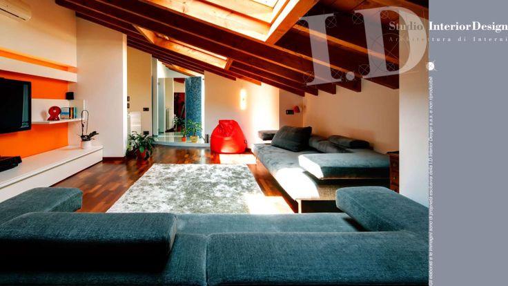 Angolo relax zona giorno www.studiointeriordesign.it