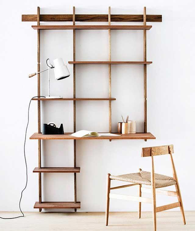 Sticotti Bookshelf / 23 Uberstylish Modular Wall-Mounted Shelving Systems http://vurni.com/modular-wall-mounted-shelving-systems/