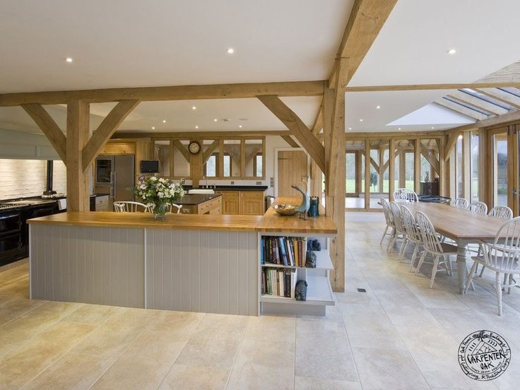 Timber And Glass Kitchen Extensions Google Search Oak