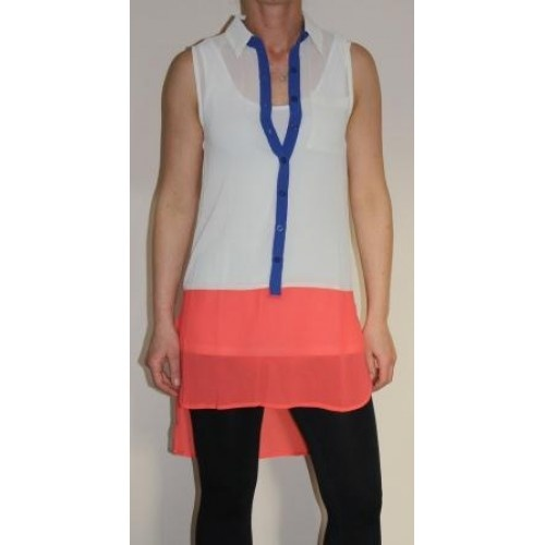 Blocked Out Blouse by Sunnygirl Australia