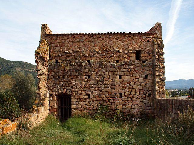Sagone vestiges cathédrale Sant' Appiano