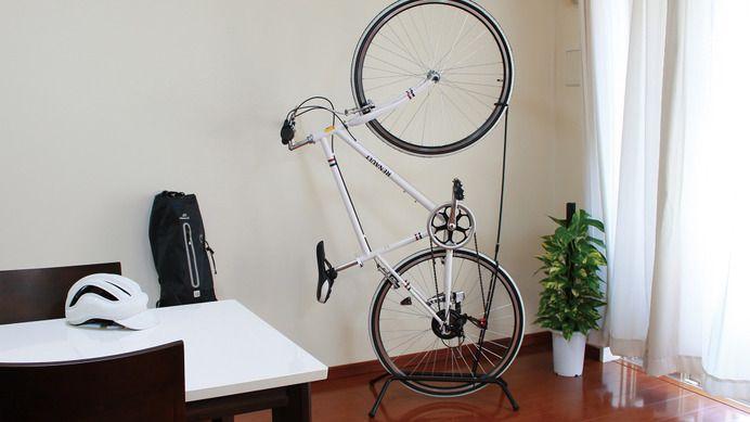 縦&横置き収納できる「自立式自転車専用スタンド」発売