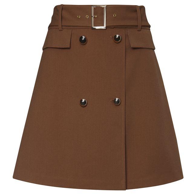 sukně, levná sukně, dámská sukně, mini sukně, okrová sukně hnědá sukně : F&F