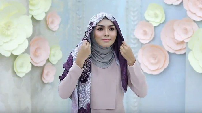 Tutorial Hijab Layer Pesta Cocok Kerudung