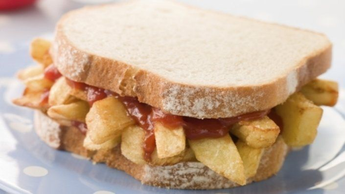 1. A dish that is so popular that it has multiple names across Great Britain is bound to be a glorious thing. Whether it's a 'chip butty', a 'chip sandw