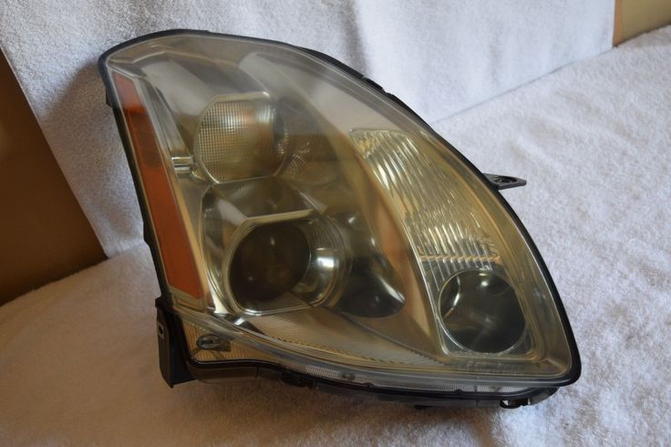 Awesome Nissan 2017: 2004 2005 2006 Nissan Maxima Headlight HID XENON Passenger Right Side OEM Check more at http://24auto.ga/2017/nissan-2017-2004-2005-2006-nissan-maxima-headlight-hid-xenon-passenger-right-side-oem/