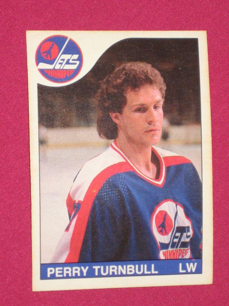 198586 254 Perry Turnbull, OPeeChee, Winnipeg Jets NHL
