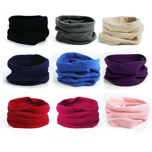 Men & Women's Outdoor Sports Winter Hunting Thermal Fleece Scarf Snood Hood Neck Warmer Hat Tube Tactical Face Mask Neckerchief on Aliexpress.com | Alibaba Group