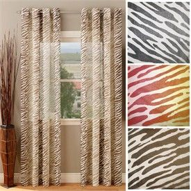 10 Best Animal Print Curtains Images On Pinterest