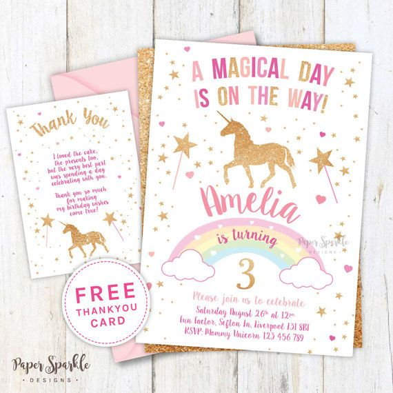 22 best unicorn images on pinterest unicorn party unicorns and unicorn invitation unicorn party first by papersparkledesigns stopboris Gallery