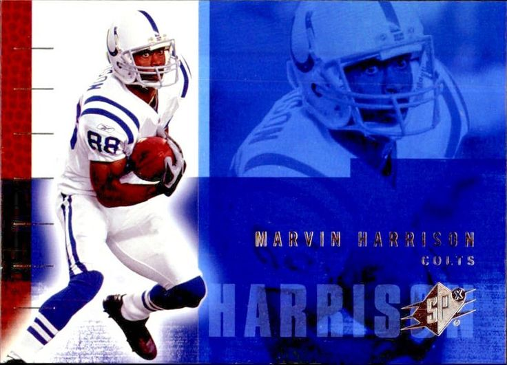 2006 SPx #38 Marvin Harrison Team: Indianapolis Colts