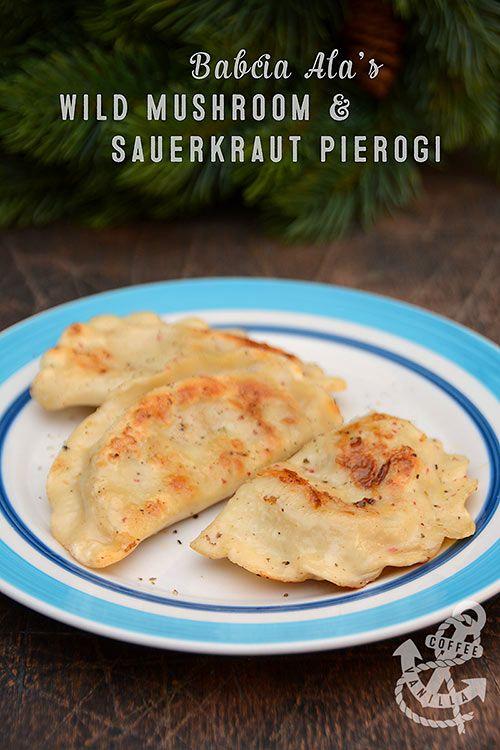 Babcia Alas Wild Mushroom Sauerkraut Pierogi