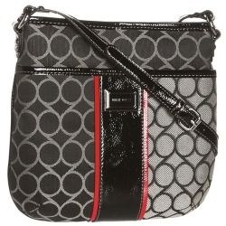 Review Nine West - 9 Jacquard Medium Crossbody (Black/Ivory) - Bags and Luggage new - Zappos is proud to offer the Nine West - 9 Jacquard Medium Crossbody (Black/Ivory) - Bags and Luggage: Put a playful touch to your modern and sophisticated look with this Nine West crossbody.