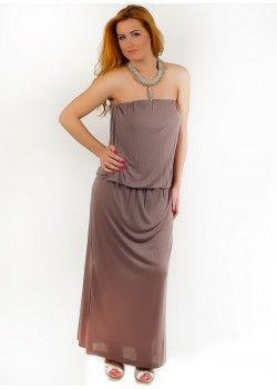 Maxi Dress Taupe.