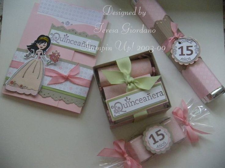 Quinceañera Party by Teresa Giordano - Cards and Paper Crafts at Splitcoaststampers