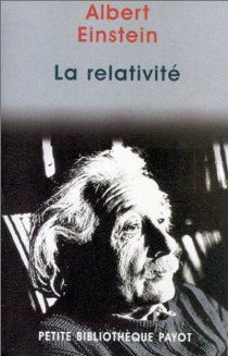 La relativité par Albert Einstein