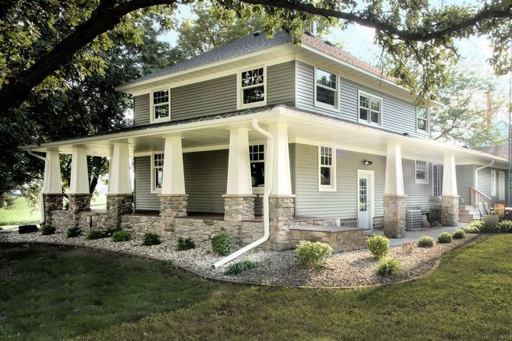 Beautiful Craftsman Style Home Featuring Cottage White