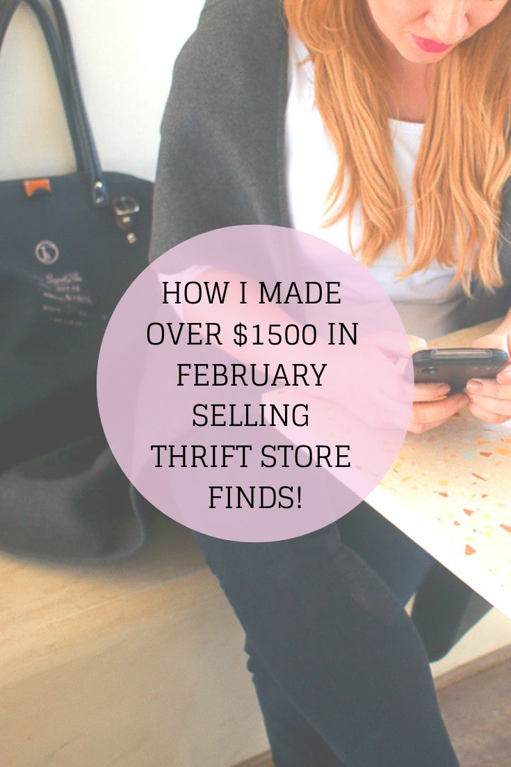How I made Over $1500 Reselling Online in February – Sell Your Stuff