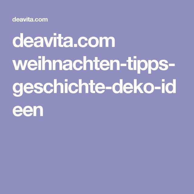 deavita.com weihnachten-tipps-geschichte-deko-ideen