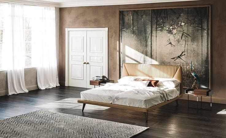 Cattelan Italia Amadeus bed by Manzoni & Tapinassi