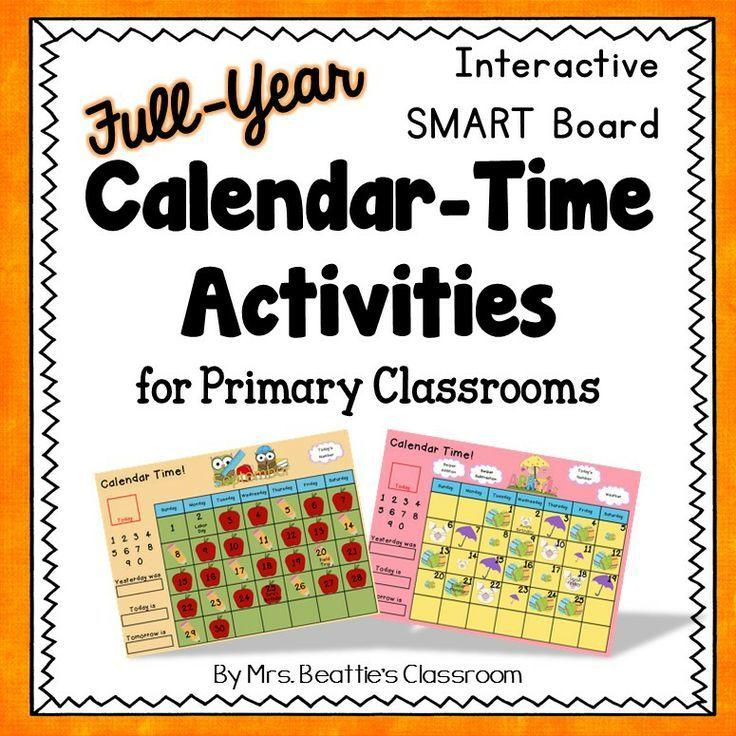 Kindergarten Calendar Time Smartboard : Best smart board resources images by mrs beattie s