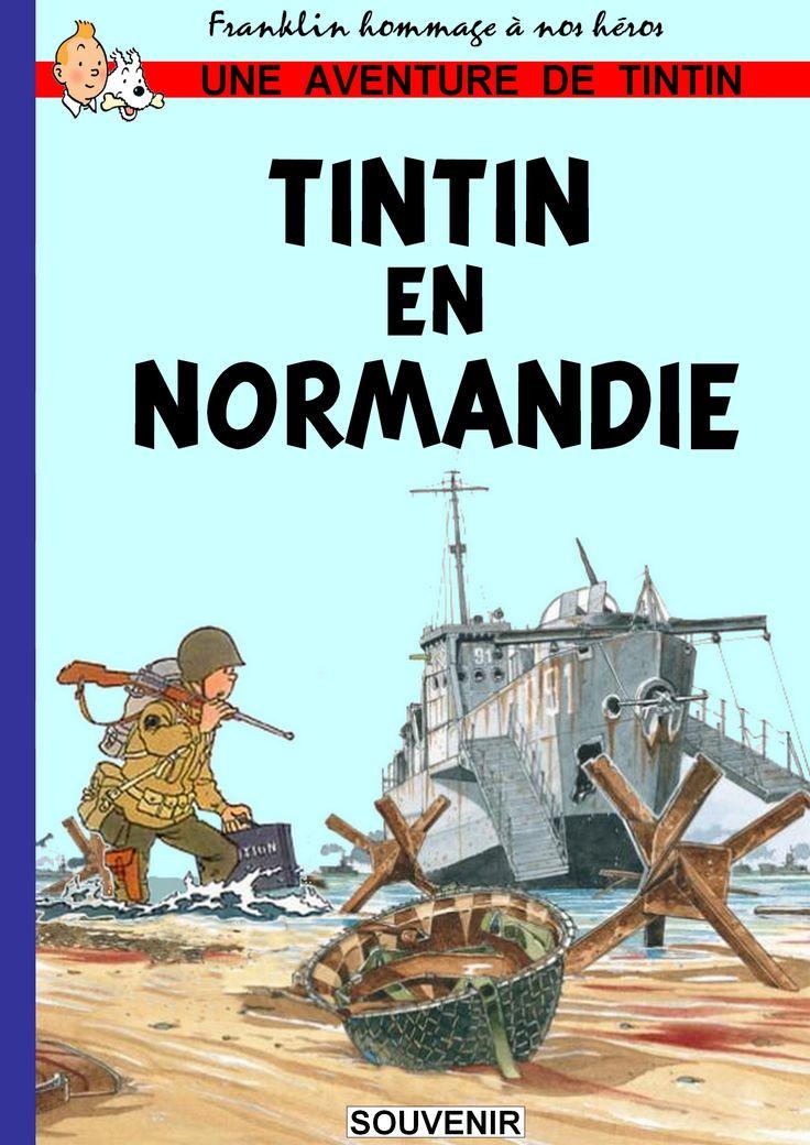 Tintin en Normandie