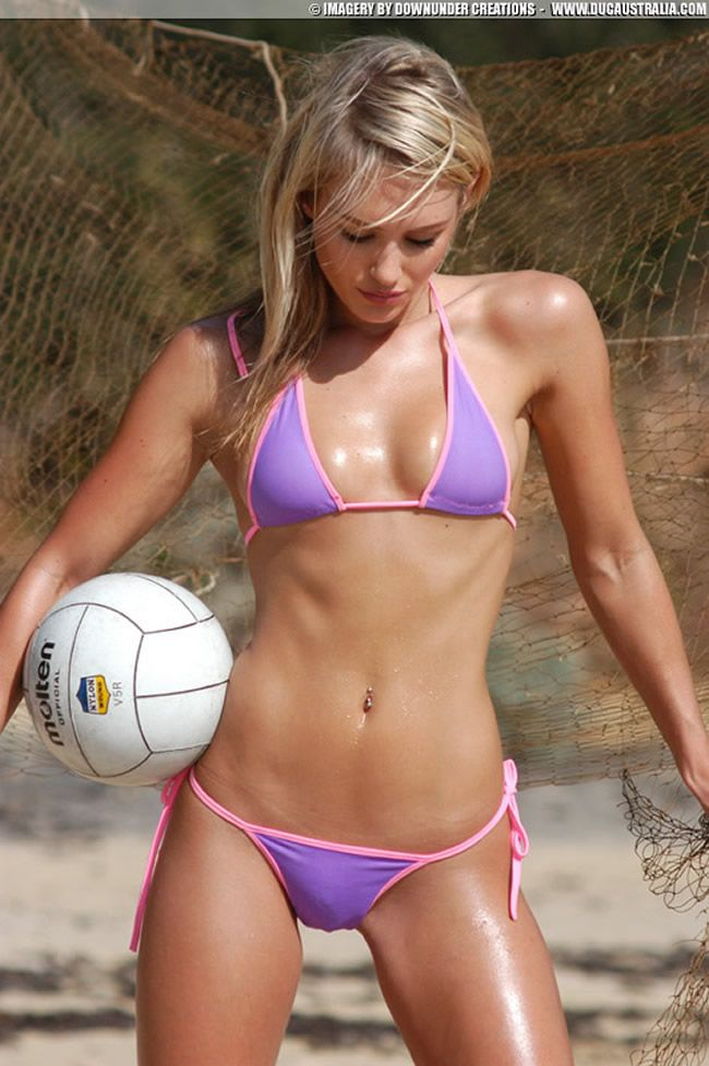 Sexy black volleyball girl phrase... super
