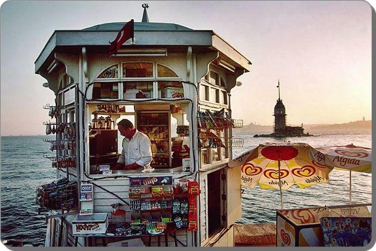 Üsküdar / Salacak - 1990 lar (Ara Güler)
