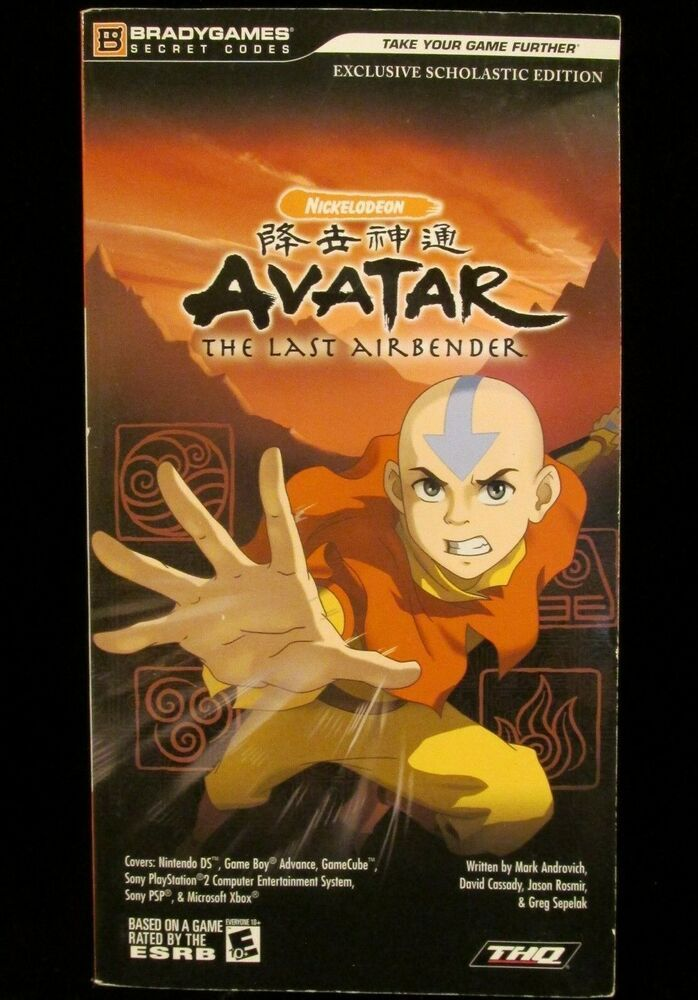 Details About Avatar The Last Airbender Official Game Strategy