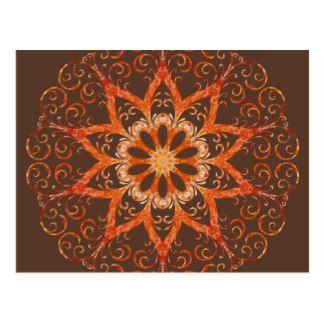 """Himalayan Salt Lamp KM3 Postcard Craft touching, hand-written correspondence while on your next road trip! Available in matte or semi-gloss. #postcard #card #kaleidoscope #mandala #abstract #geometric #pattern #reiki #nature  #stationery Dimensions: 4.25"""" x 5.6"""" (portrait) or 5.6"""" x 4.25"""" (landscape) Full color CMYK print process Double sided printing for no additional cost Postage rate: $0.34 Paper Type: Matte"""