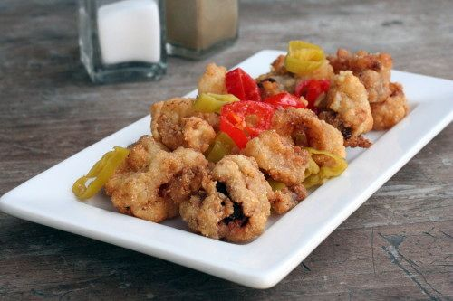 "Rhode Island-Style Calamari and in 2013 was made the ""STATE APPETIZER"""