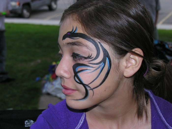 110 best images about face painting dragon & dinosaur on ...
