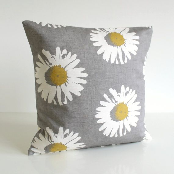 Pillow Cover 16 Inch Pillow Sham 16x16 Cushion Cover by CoupleHome