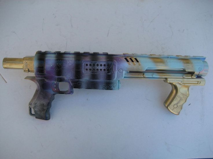 Nerf Raider Joker Harley Quin Suicide squad Gun Style Cosplay Painted weapon
