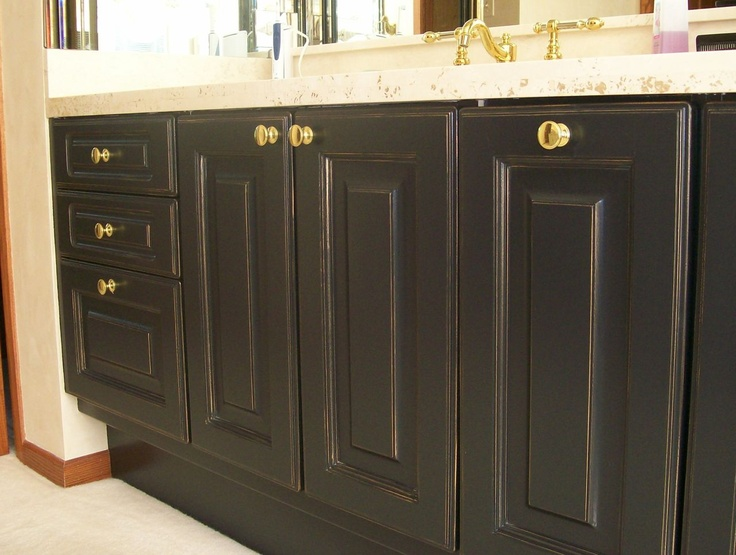 Refinishing old oak cabinets rv ideas pinterest for How to refinish old cabinets