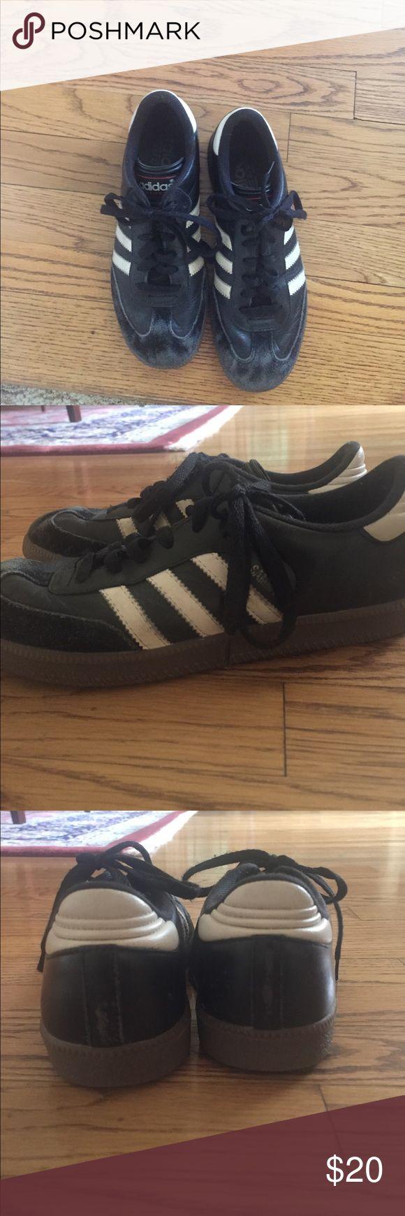 Black adidas sambas Used! No holes! adidas Shoes Sneakers