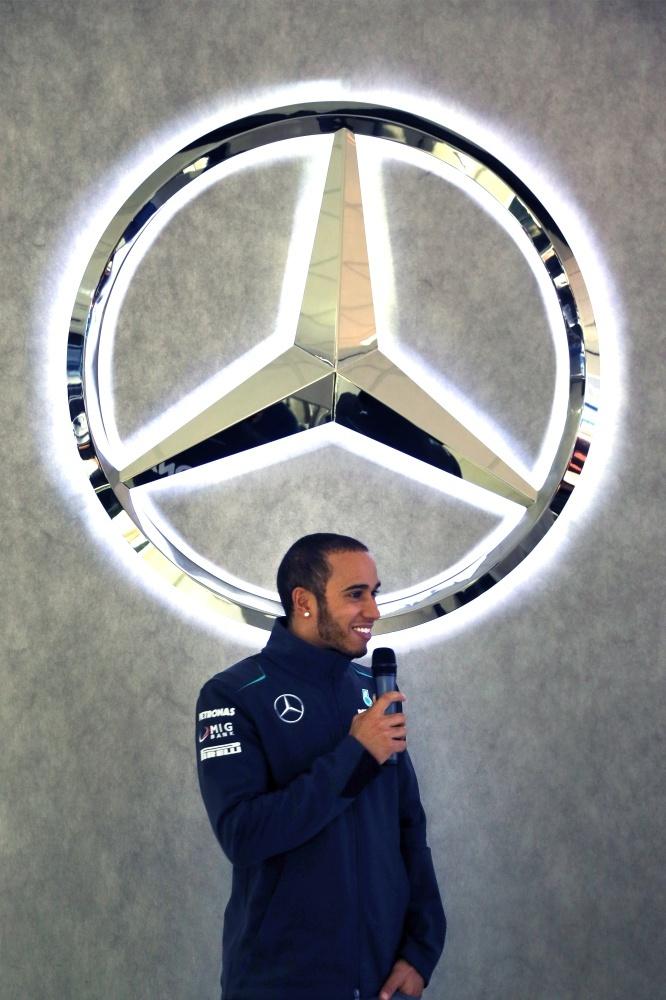 Lewis Hamilton and Mercedes