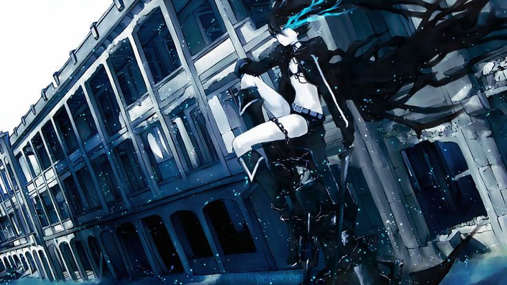 Black Rock Shooter chains anime girls - Wallpaper (#998573) / Wallbase.cc
