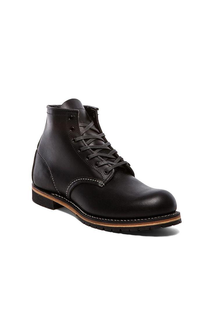 "Red Wing Shoes Beckman 6"" Classic Round в цвете Черный Фезестоун | REVOLVE"