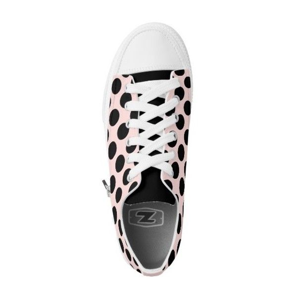 Polka Dot Pink Beige Sneakers For Women ($96) ❤ liked on Polyvore featuring shoes, sneakers, zip shoes, beige sneakers, pink trainers, zipper shoes and canvas shoes