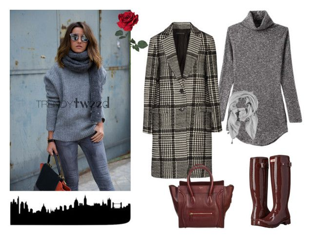 """""""Love Rainny Days!!!!"""" by fashionistaroxana ❤ liked on Polyvore featuring Hunter, Theory and CÉLINE"""