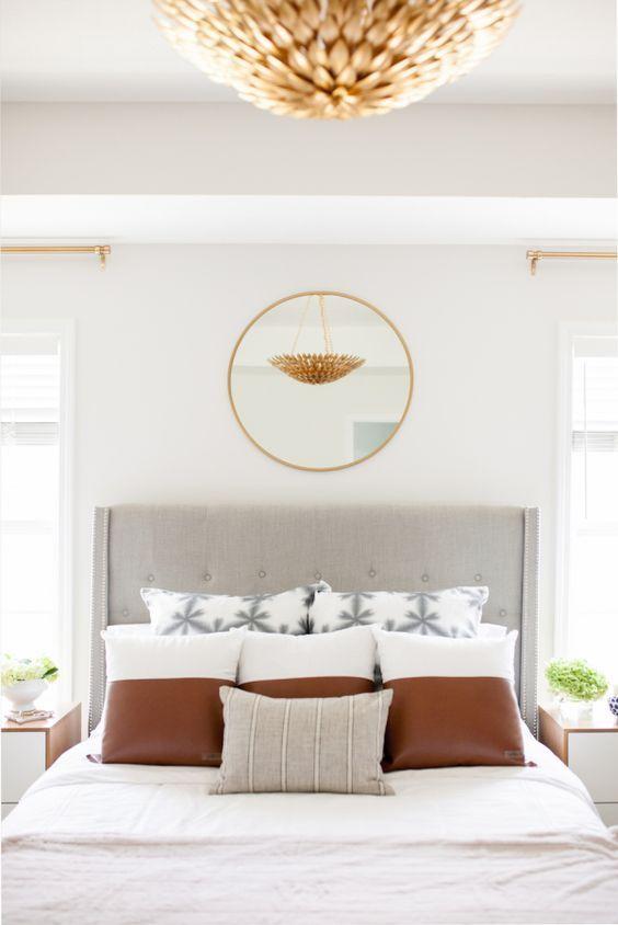 Whimsical bedroom detail that conveys sheer elegance     www.bocadolobo.com #bedroomdecorideas #bedroomdecor #masterbedroom #masterbedroomideas #minimalistbedroom #luxurybedroom #dreambedroom