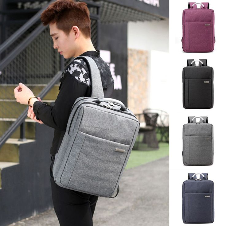 Men Women Business Rucksack Camping Smart Travel Backpack Laptop Notebook Bag