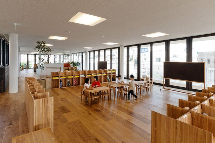 D1 kindergarten and nursery completed in kumamoto, japan