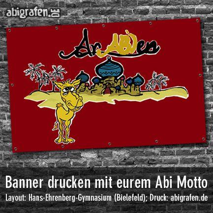 #Banner drucken mit #Abimotto - abigrafen