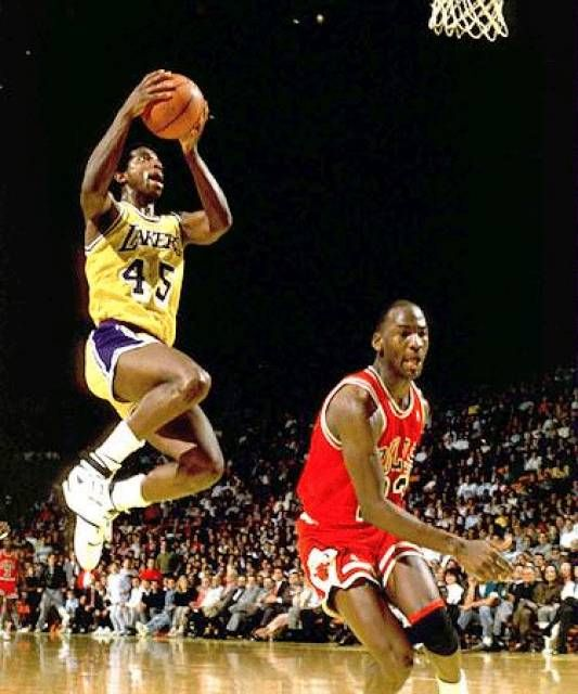 A.C. Green, who played for the Los Angeles Lakers from 1985 to 1993.